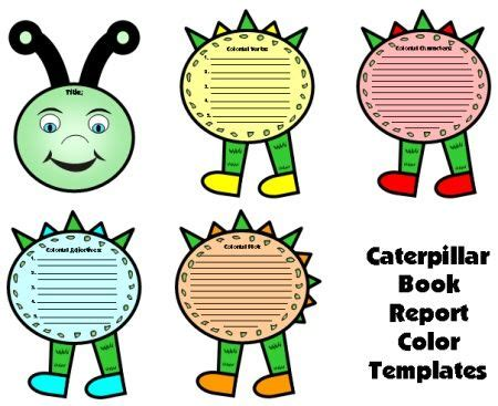 Book report template for primary students
